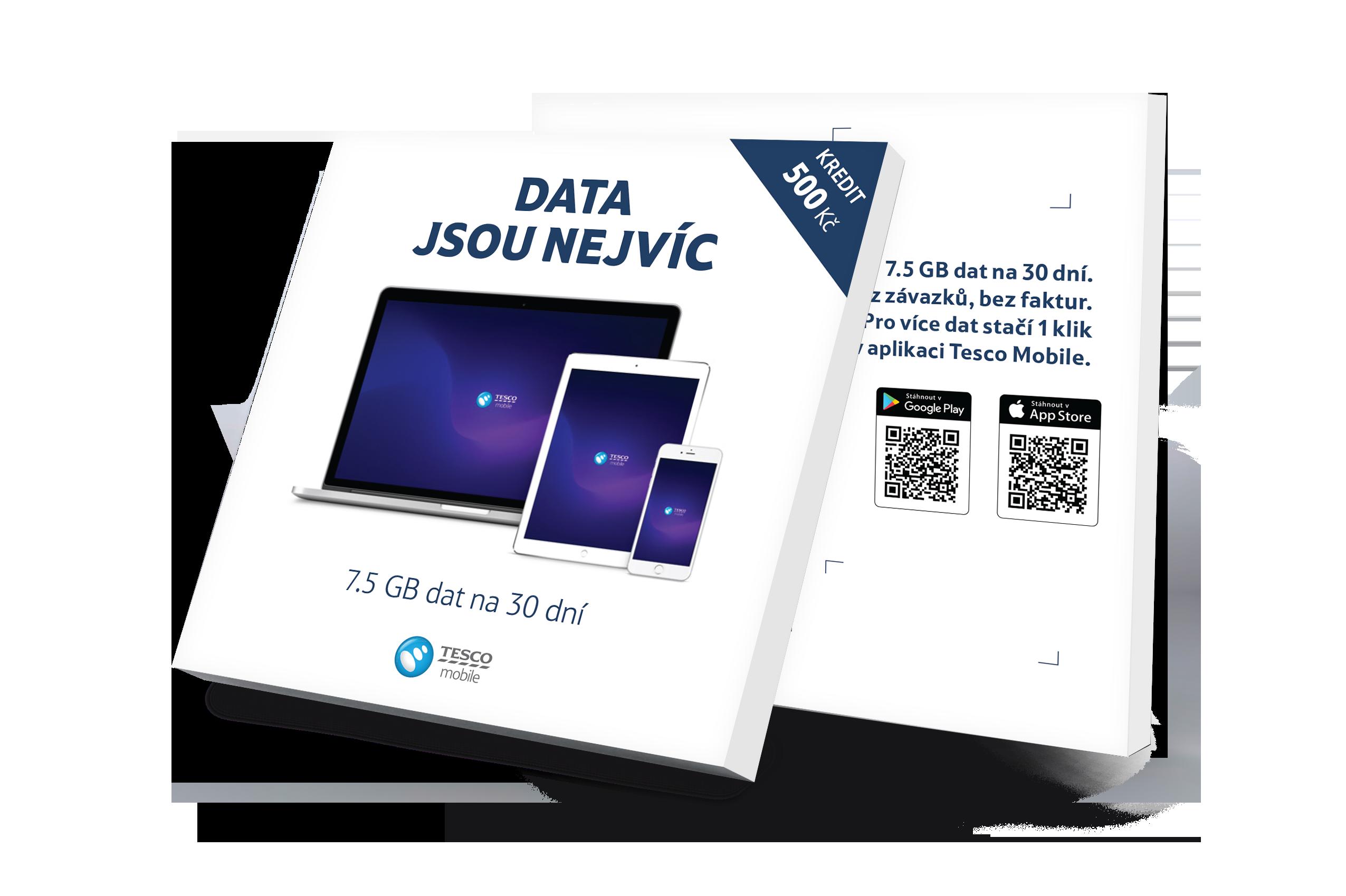 box-Datová SIM karta za 199 Kč